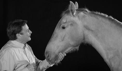 Frey Knie Junior mit Pferd